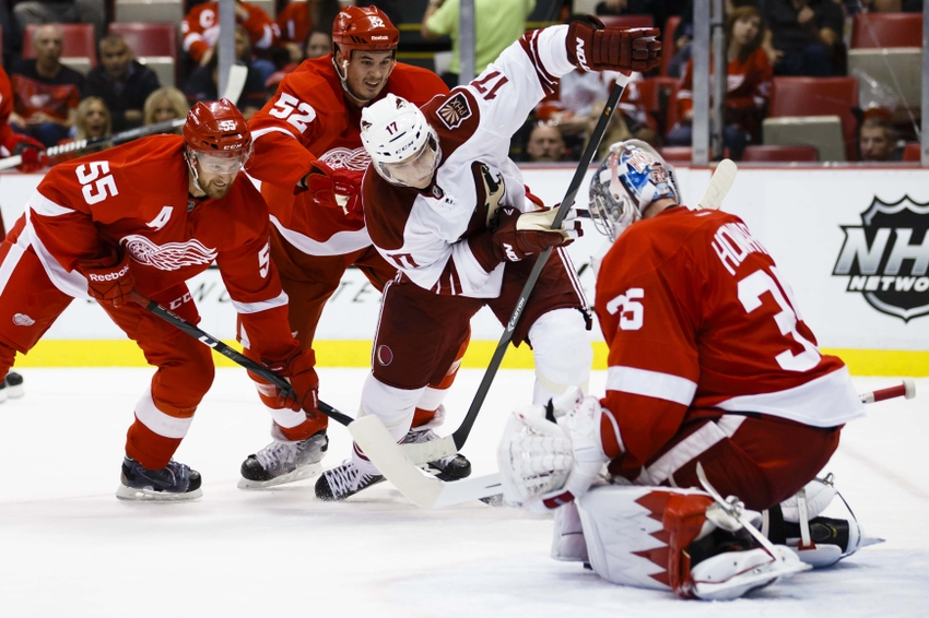 Arizona Coyotes 2014-2015 Season Series Preview  The Detroit Red Wings b0042ed28